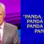 Alex Trebek reading the rap category on 'Jeopardy' proves he might be the best rapper alive.
