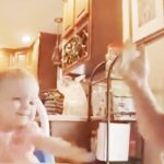 Deaf baby 'sings' with dad in ASL… their rendition of 'If You're Happy And You Know It' is the cutest.