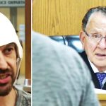 Judge reaches verdict in 40 seconds after man shows up to court with helmet on.