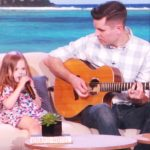 Father-daughter duo perform a new Disney song and my heart can't handle it.