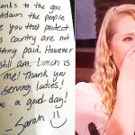 Waitress pays struggling soldier's tab, but when Ellen stands up to praise her, she's stunned.