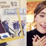 Emma Watson offers advice to strangers, but little boy's question melts her heart.