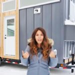 Wife builds tiny house trailer, then shows the inside is unthinkably clever.