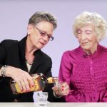 Grandmas try 'Fireball whisky' for the first time, have a priceless reaction.