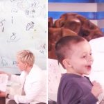 5-year-old geography genius shows off his homemade map to Ellen, but hilarious explanations have her cracking up.