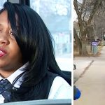 Bus driver notices sobbing child run up the sidewalk, then grabs him when she sees his outfit.