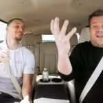 Watch Stephen Curry sing 'Frozen' and 'Moana' songs on 'Carpool Karaoke' with James Corden.