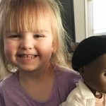 Toddler shuts down cashier who told her to pick a different doll.