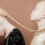 Albino twins from Brazil are taking the fashion industry by storm with their unique beauty.