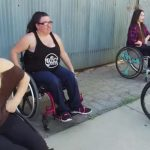Paralyzed women in wheelchairs line up in formation, perform incredible dance routine.