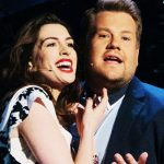 Anne Hathaway and James Corden sing the perfect soundtrack to a rom-com.