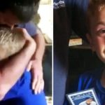 Father rewards hard-working son with Cubs tickets, video instantly goes viral.