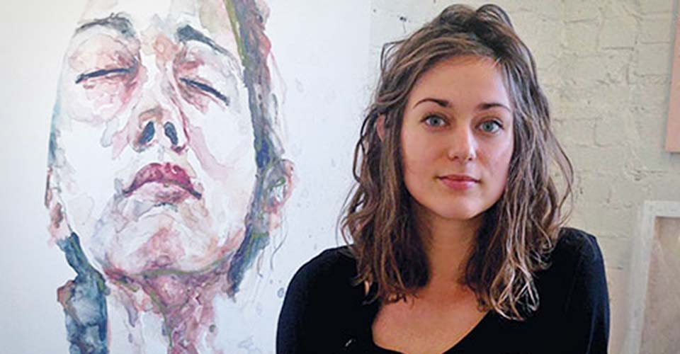 An artist with a passion for painting faces shows us why being different is beautiful.
