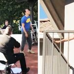 Famous rapper sneaks orchestra into backyard, wakes up wife for adorable birthday surprise.