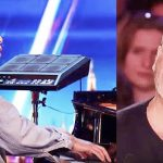 His piano-playing kept him off the streets and this audition could be his big break.