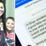 Struggling mom of 3 accidentally messages wrong man, then he says he's coming to help.