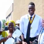 Student has no idea classmates raised money to fly mom from Nigeria, has sweetest reaction to graduation surprise.
