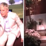 Ellen is about to meet a guest who's 7 months pregnant, but has to walk off set to find her.