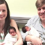 White couple gives birth to triplets, but people instantly notice how 'different' they look.
