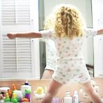 Little girl celebrates life with adorable pep talk in the mirror.