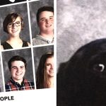 A school included this teen's service dog in the yearbook and it's the purest thing.