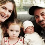 Jimmy Kimmel gets emotional when announcing his son's birth and health complications.