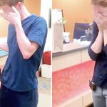Couple expects to adopt unborn baby, then husband gives emotional update about birth mom.