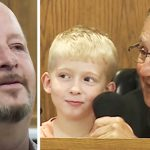 Dad sent to court awaits judge's decision, then 5-year-old son offers up a suggestion.