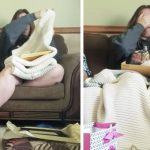 Teen gives stepmom blanket, she breaks down in tears when she sees adoption papers inside.