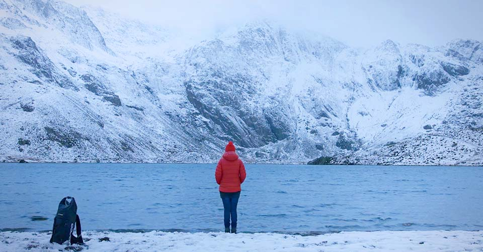 She took a camera to a remote area in Snowdonia. What she recorded is simply breathtaking.