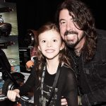 Dave Grohl's daughter rocked the drums at a Foo Fighters show.