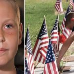 10-year-old horrified to find veteran cemetery disrespected, visits 23,000 graves over 2 years to make things right.