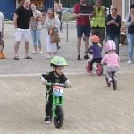 2-year-old champion decides biking is more fun than winning the big race.