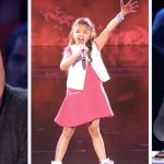 Simon thinks tiny singer can't handle Alicia Keys' hit, then guest judge slams his 'golden buzzer'.