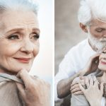 Russian photographer captures beautiful elderly couple to show that love transcends time.