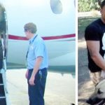Marine was about to lose dogs because they can't fly, so heiress charters private jet for them.