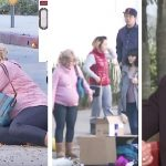 Pregnant lady sobs on hidden camera, but strangers have no clue Ellen is watching like a hawk.