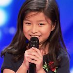 Adorable 9-year-old earns 'golden buzzer' on 'America's Got Talent'.