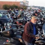 50 bikers escort bullied boy to first day of middle school.