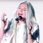 Watch Kesha beautifully perform 'Praying' for the first time.
