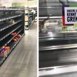 Supermarket removes all foreign food from shelves to make a point about racism, and here's the result.