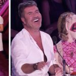 12-year-old introduces 'old lady' puppet. 30 seconds later, she's already flirting with Simon.