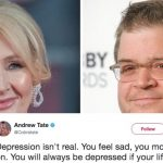 A terrible tweet about depression has the Internet in an uproar.