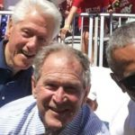 Presidents Bill Clinton, George W. Bush and Barack Obama are currently involved in the world's most historical bromance.