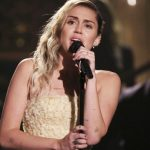 Miley Cyrus performs moving Las Vegas tribute song on 'Tonight Show'.