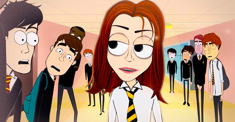 A film student made one of the funniest animations about school love. I actually laughed out loud.