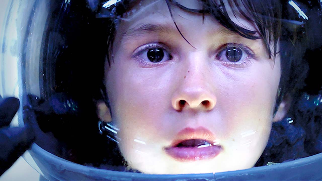 A young boy loses his mom, then meets a girl who claims her 'spaceship' can take him to find her.