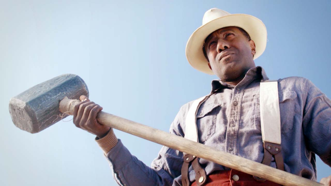 A railroad worker challenges a steam drill to a race. Then, he becomes an American folk hero.